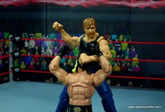 wwe network spotlight dean ambrose figure review -punching out seth rollins