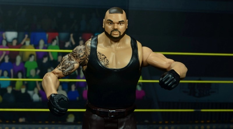 wwe nxt basic akam figure review -main pic