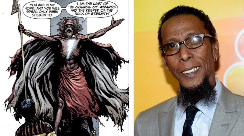 Ron cephas Jones may play wizard in Shazam
