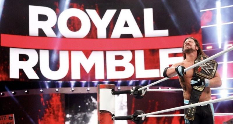 Royal Rumble 2018 - AJ styles