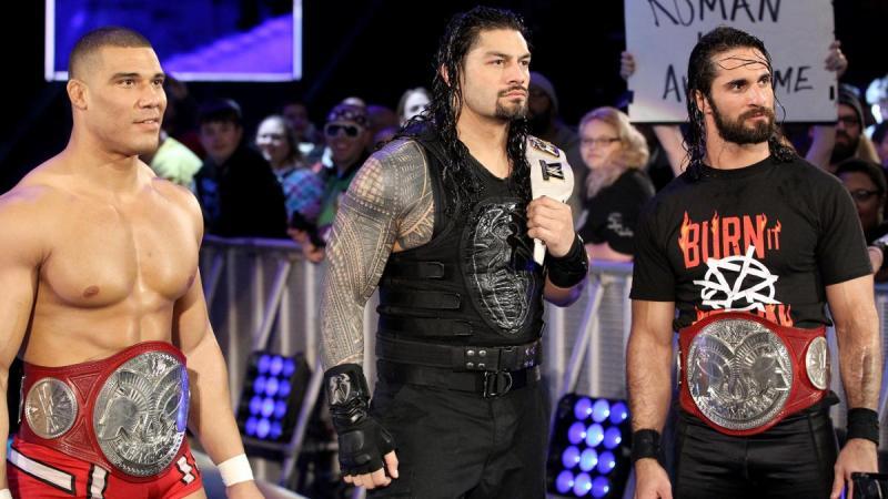 Jason Jordan Roman Reigns Seth Rollins