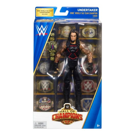 WWE Hall of Champions Undertaker front package