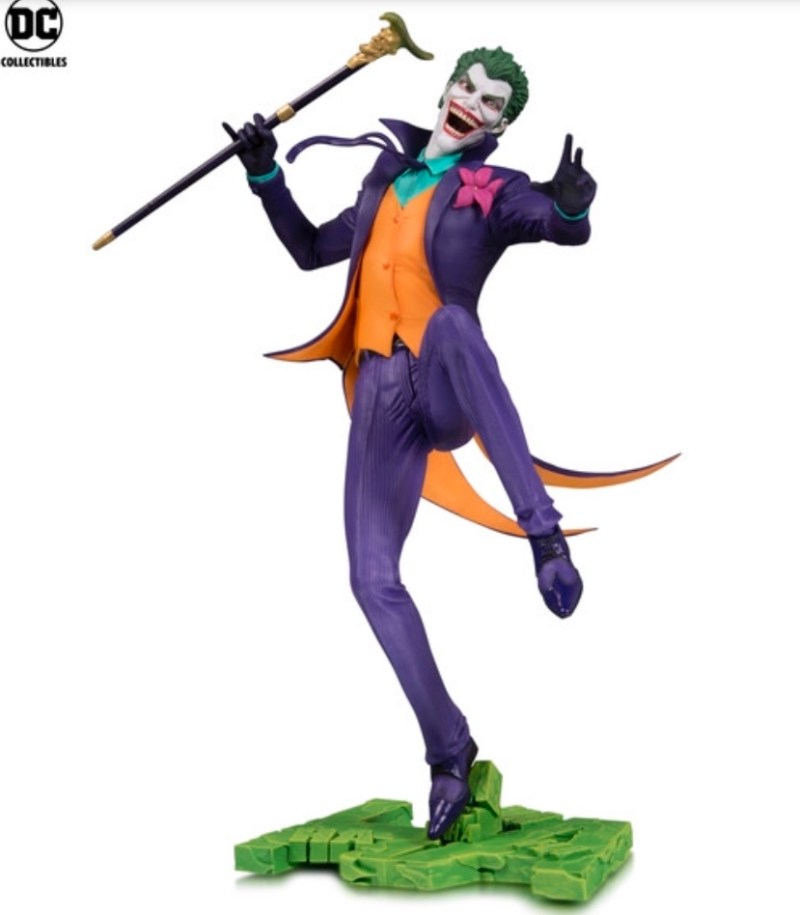 DC Core Joker statue