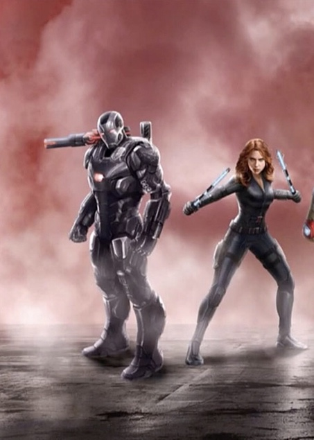 War machine and Black Widow