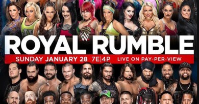 Royal Rumble 2018 -