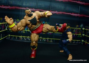Storm Collectibles Street Fighter V Zangief figure review -big boot to ryu