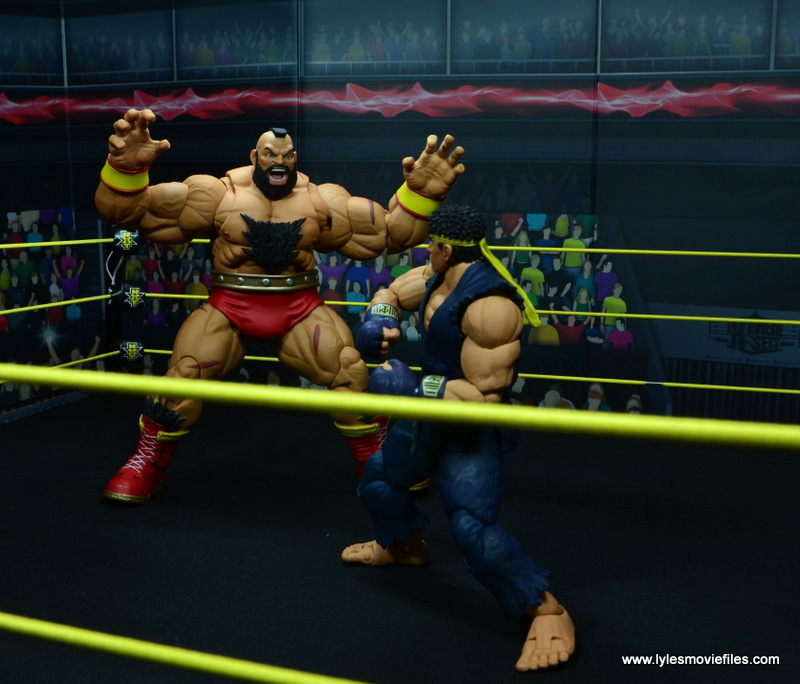Storm Collectibles Street Fighter V Zangief figure review -coming for ryu