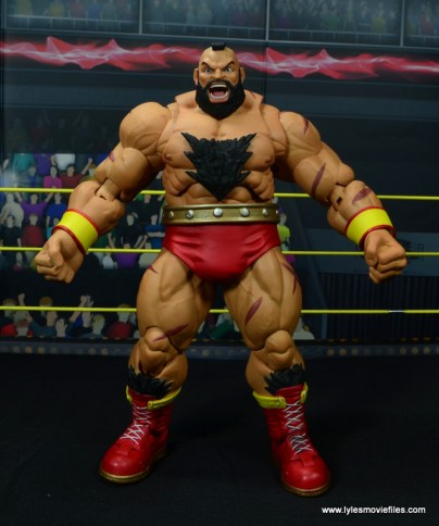 Storm Collectibles Street Fighter V Zangief figure review -front