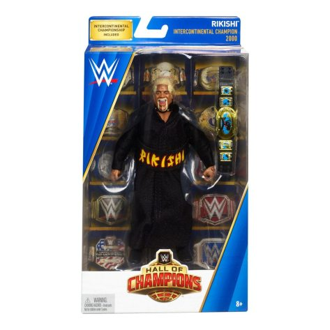 WWE Hall of Champions Elite Collection Rikishi front package