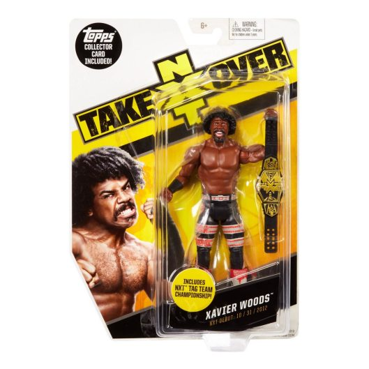 WWE NXT TakeOver Xavier Woods Figure package