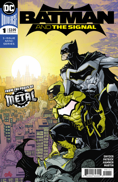 batman and the signal #1 cover
