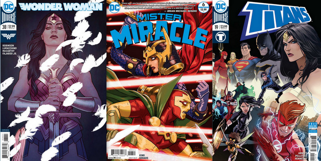 dc comics reviews 1/10/18