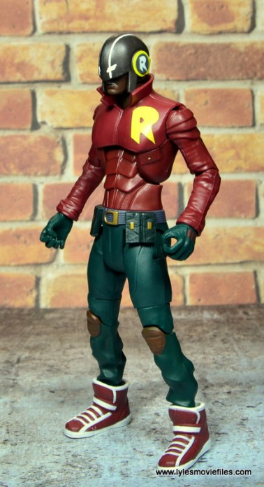 dc multiverse duke thomas figure review - left side