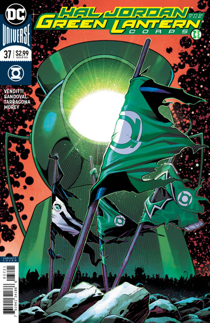 hal jordan and the green lantern corps #37 variant cover