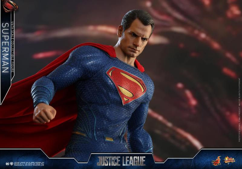 hot toys justice league superman figure review -detail pic