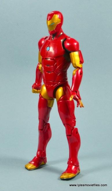 marvel legends invincible iron man figure review -left side