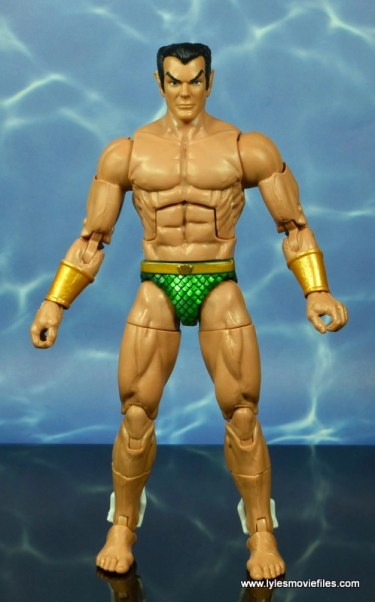 marvel legends sub-mariner figure review -front