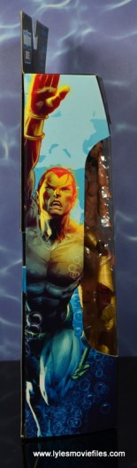 marvel legends sub-mariner figure review - package side
