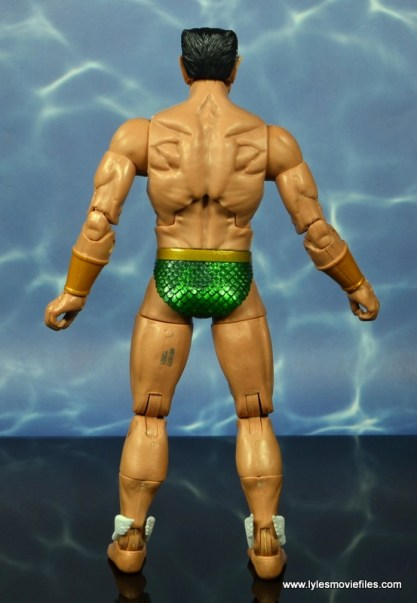 marvel legends sub-mariner figure review - rear