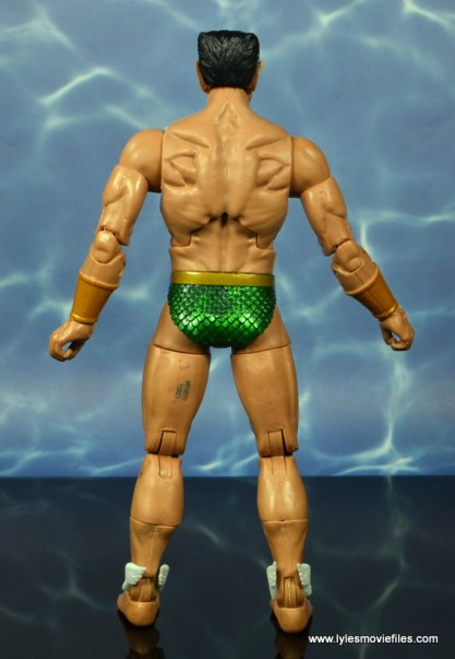marvel legends sub-mariner figure review - rear