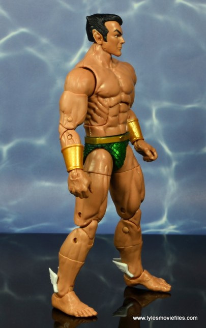 marvel legends sub-mariner figure review -right side