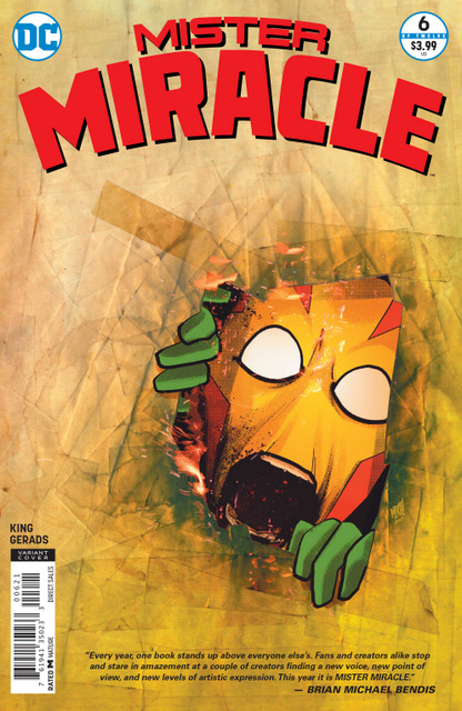 mister miracle #6 variant cover