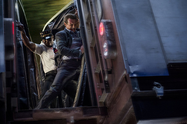 the commuter review -colin mcfarlane and liam neeson