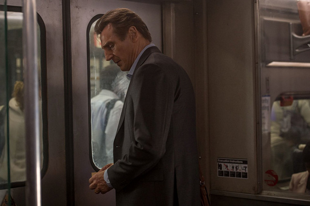 the commuter review -liam neeson