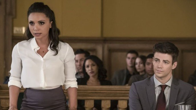 the-flash-the-trial-of-the-flash-review - cecile and barry