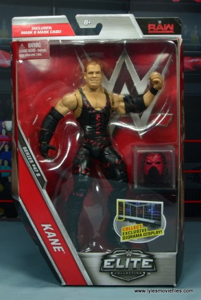 wwe elite 47b kane figure review - front package