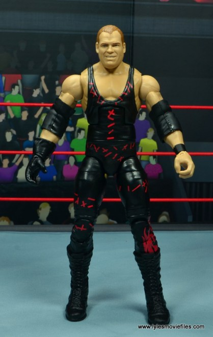 wwe elite 47b kane figure review - front
