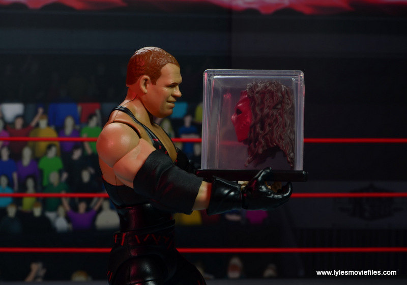 wwe elite 47b kane figure review -holding case