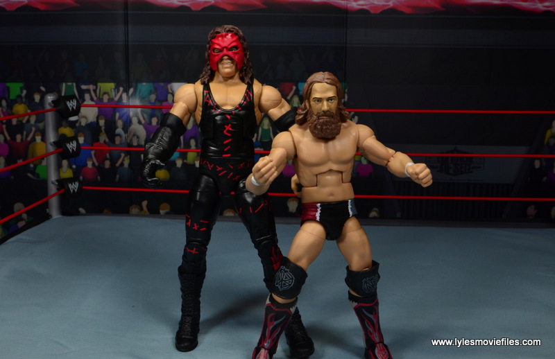 wwe elite 47b kane figure review -team hell no