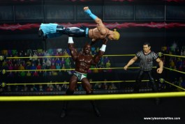 wwe elite 49 apollo crews figure review - press slam tyler breeze