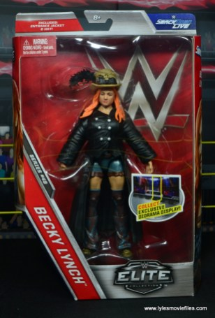 wwe elite 49 becky lynch figure review - package front