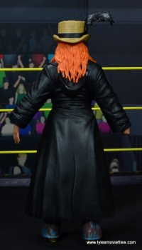 wwe elite 49 becky lynch figure review - rear with coat and hat
