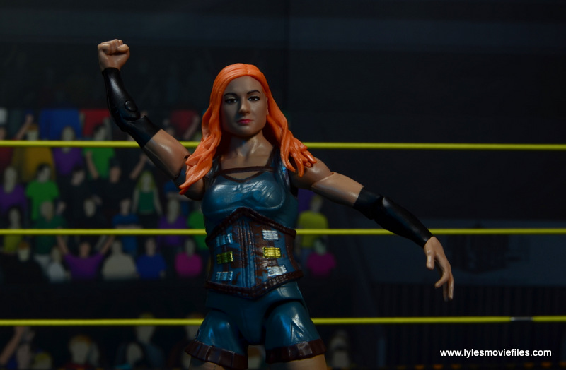 wwe elite 49 becky lynch figure review - wide pic