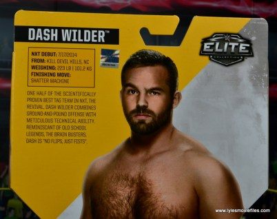 wwe elite the revival scott dawson and dash wilder figure review -dash wilder bio