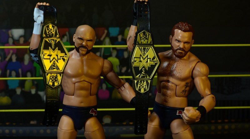 wwe elite the revival scott dawson and dash wilder figure review -main pic