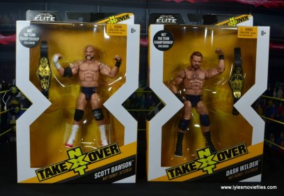 wwe elite the revival scott dawson and dash wilder figure review - package front