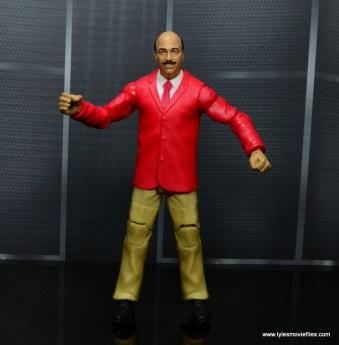 wwe flashback mean gene okerlund figure review - red jacket on