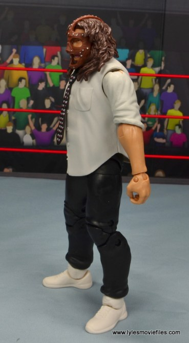 wwe summerslam elite mankind figure review - left side