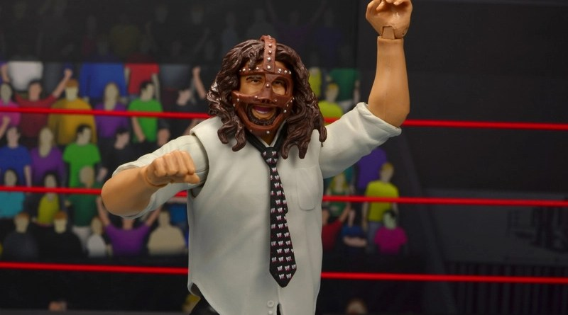 wwe summerslam elite mankind figure review - main pic