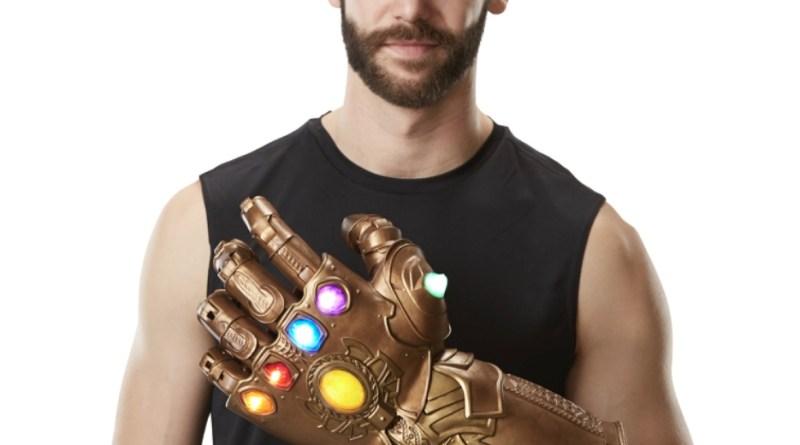 marvel legends infinity gauntlet hands up scale