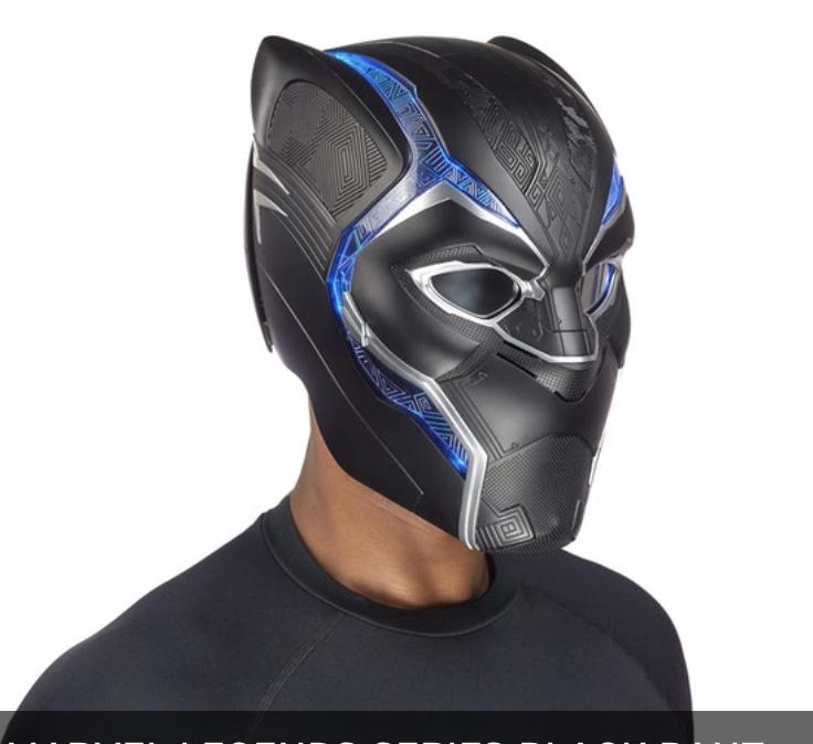 Marvel Legends Black Panther helmet Profile