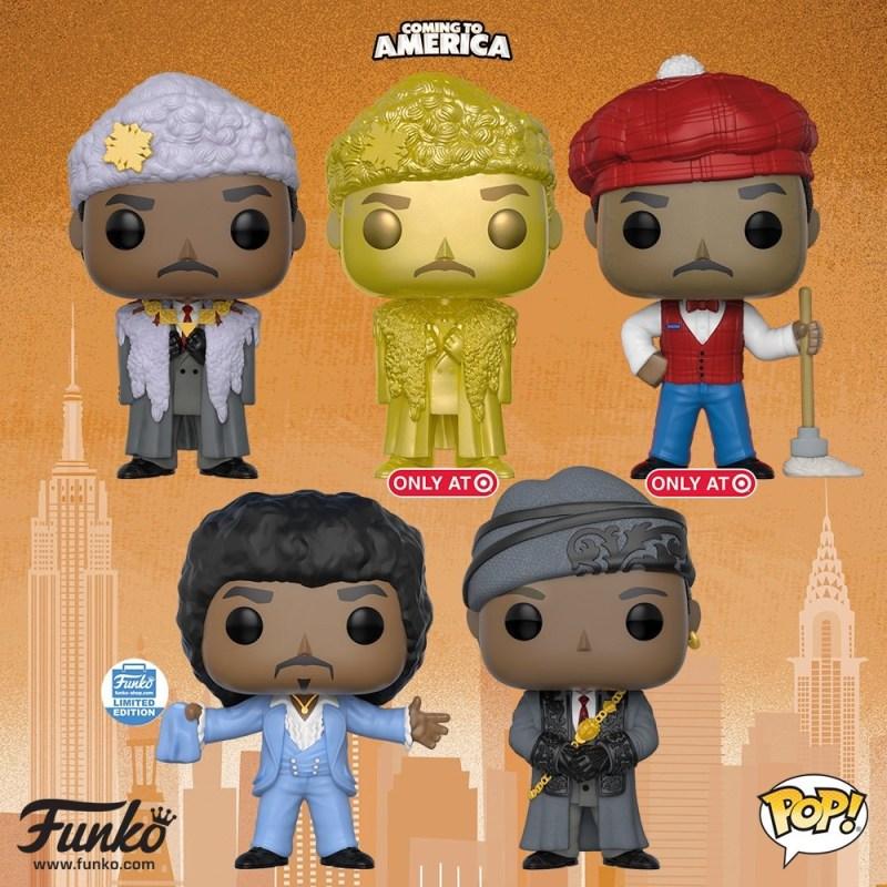 Funko Pop Coming to America