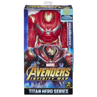 MARVEL AVENGERS INFINITY WAR TITAN HERO 12-INCH DELUXE Figures (Hulkbuster) - in pkg
