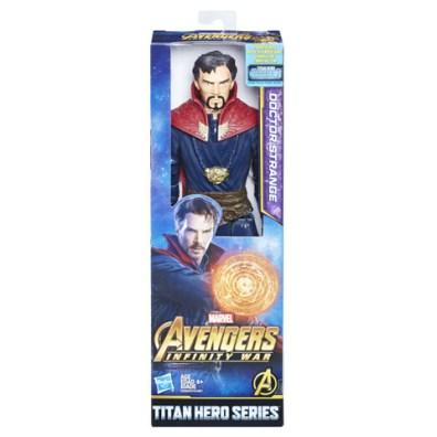 MARVEL AVENGERS INFINITY WAR TITAN HERO 12-INCH Figures (Doctor Strange) - in pkg