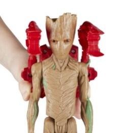 MARVEL AVENGERS INFINITY WAR TITAN HERO 12-INCH Figures (Groot) - oop2