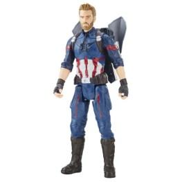 MARVEL AVENGERS INFINITY WAR TITAN HERO 12-INCH POWER FX Figures (Captain America) - oop